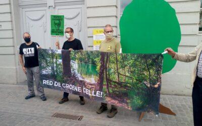 Zuhal Demir ontvangt meer dan 34.000 petitiehandtekeningen voor het beschermen van De Groene Delle
